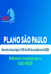 Decreto Municipal n°159 de 10 de outubro de 2020