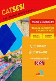 ACC e SESI Cruzeiro  firmam parceria.