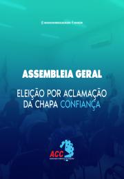 Assembleia Geral de Aclamação da Chapa Confiança