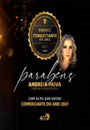 Parabéns Andréia Paiva