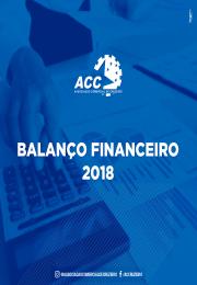 Balanço Financeiro 2018